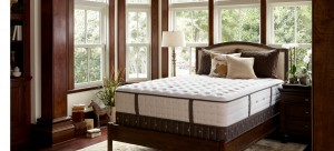 Simmons Comforpedic mattress in bedroom