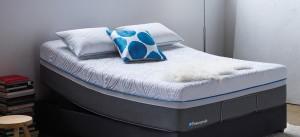 unmade Sealy Posturepedic Premier Hybrid mattress in store