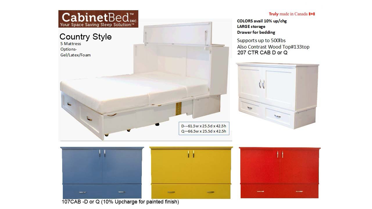 easy to use and beautiful to display the cabinetbed is the perfect solution for comfortable sleep in any location