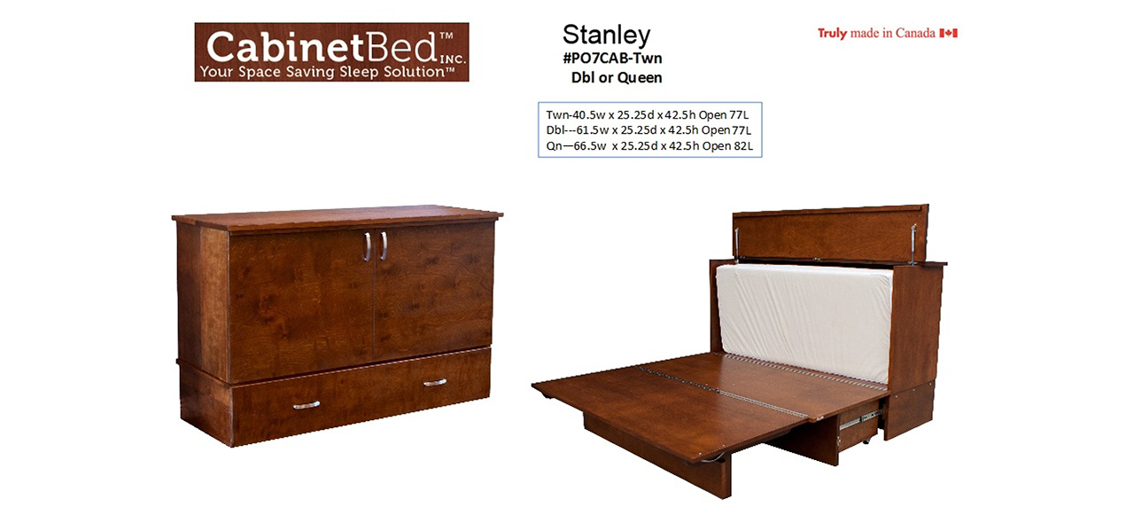 Easy To Use And Beautiful To Display. The CabinetBed™ Is The Perfect  Solution For Comfortable Sleep In Any Location!