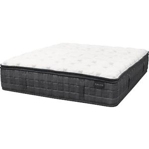 black and white mattress against white background