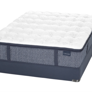 navy and white mattress