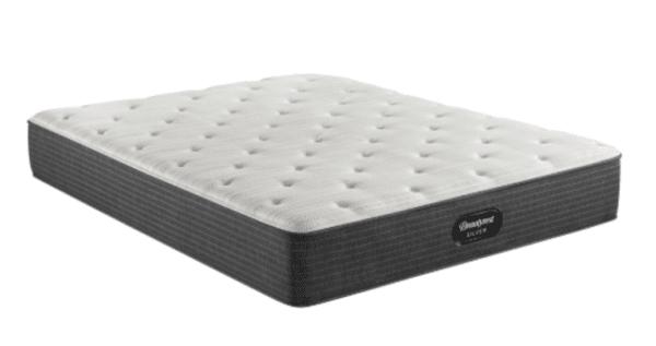 white and light grey mattress