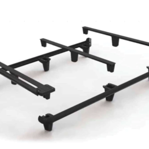 black frame for underneath mattress