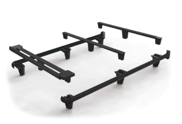 black frame for underneath mattress