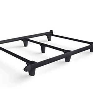 black complete brace/frame for underneath mattress