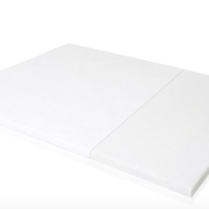 white latex mattress topper