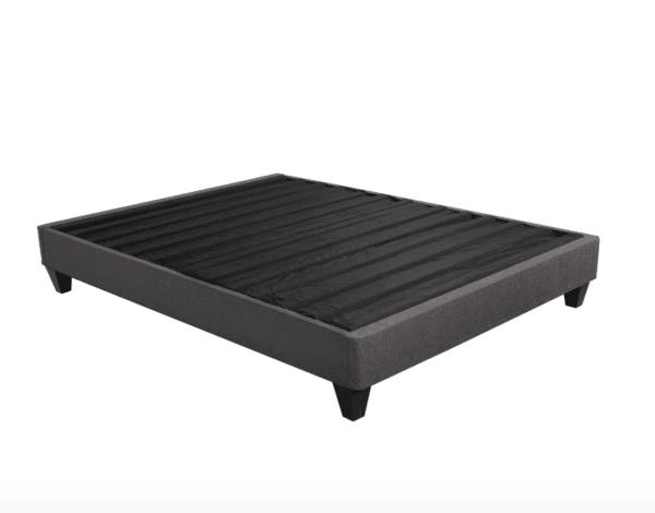 solid black upholstered base