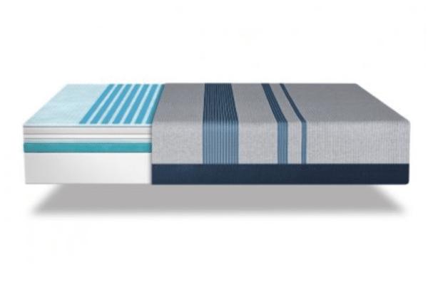 inside of srta 1000 mattress