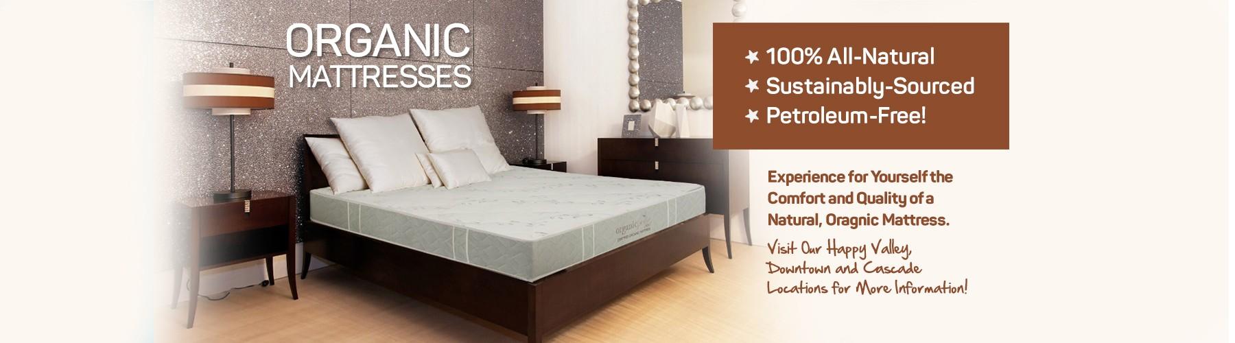 Organic Bedroom Furniture Organic Mattresses Inc Portland Or Mattress World Northwest