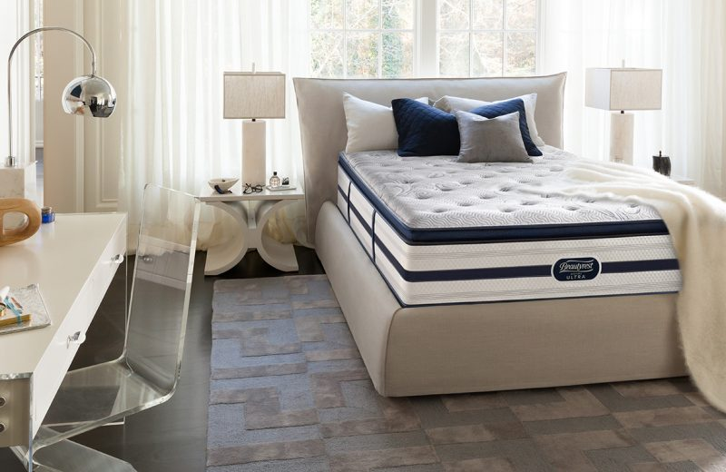 Beautyrest Recharge Mattress in bedroom