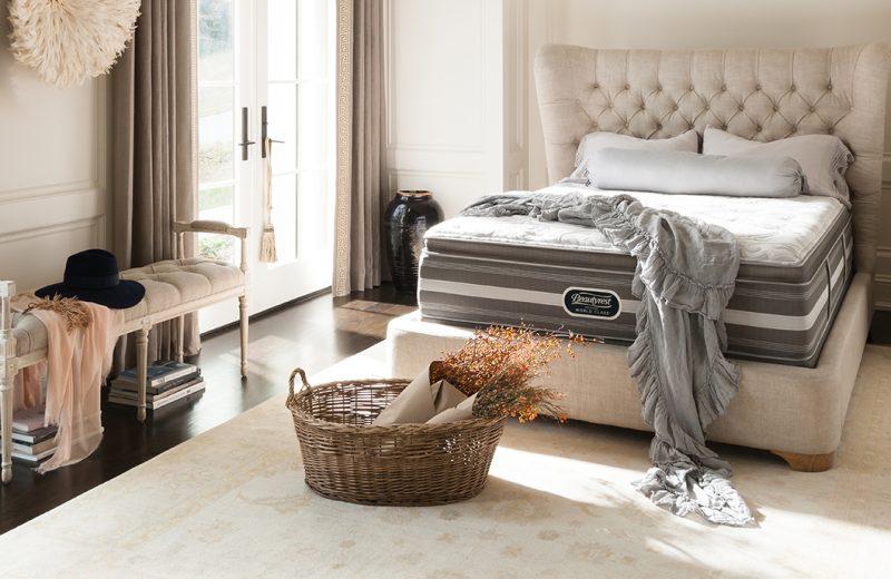 Beautyrest mattress in bedroom