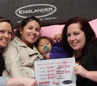 Englander mattress selfie