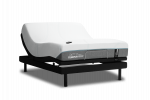 Tempurpedic T1 Adapt Medium SILO AdjustableBase TEMPUR ErgoExtend Three Quarter With Remote Outline Queen