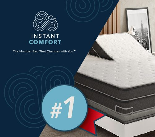 The Number Bed by Instant Comfort is the #1 Mattress